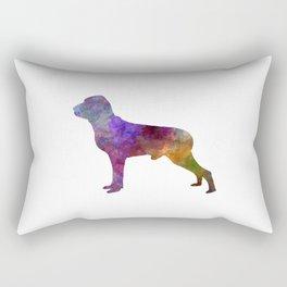 Italian Pointer in watercolor Rectangular Pillow