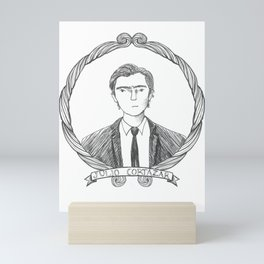 Julio Cortazar Mini Art Print