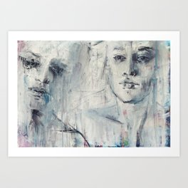our great love story Art Print