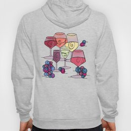 Wine and Grapes v2 Hoody
