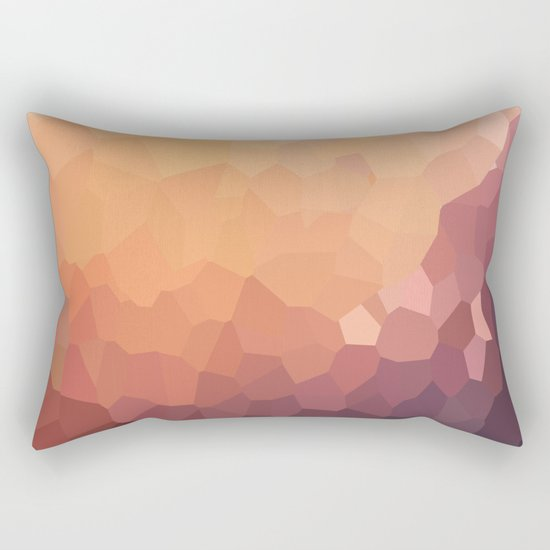 Fire Moon Love Rectangular Pillow