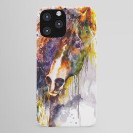 Abstract Horse Head iPhone Case