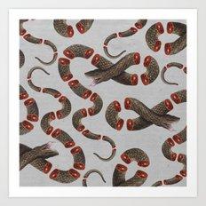 Snake IV Art Print