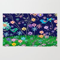 magical girl Area & Throw Rugs featuring Magical by DesignsByMarly