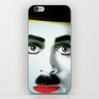 chaplin iPhone & iPod Skins featuring charlie chaplin by mark ashkenazi