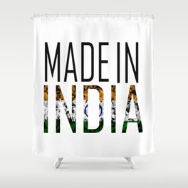 Made In India Shower Curtain