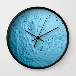Water Background Wall Clock