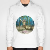 little mermaid Hoodies featuring Little Mermaid by Design Windmill