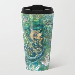 Emerald Wisdom Metal Travel Mug
