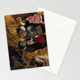 Les Normaux Christmas Stationery Cards