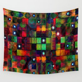 Urban Perceptions, Abstract Shapes Wall Tapestry
