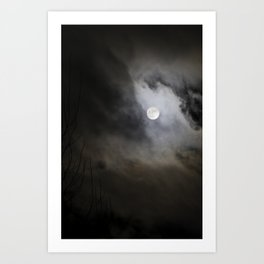 Witchcrafts Moon Art Print