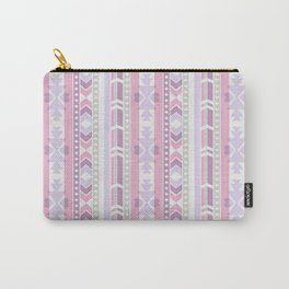 Southwest (pink & lilac) Carry-All Pouch