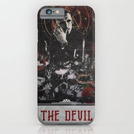 Hannibal Tarot - The Devil iPhone Case