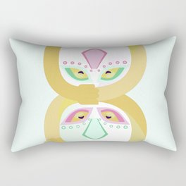 Have a huggy day Rectangular Pillow