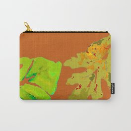 Leaves de la Autumn painting with digital frolicksomeness Carry-All Pouch