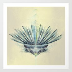 The Feathered Tribe Abstract / II Art Print