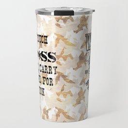 Badass Mug Travel Mug