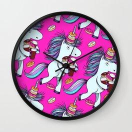 The Intern (Pink) Wall Clock