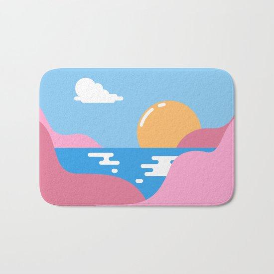 Our Sunset Bath Mat