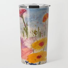 Flowers in the Feild Travel Mug