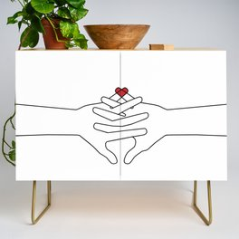 The Power of Love Credenza