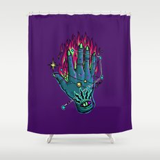 Hand of Glory Shower Curtain