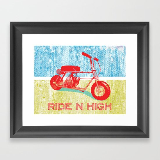 Ride N' High Framed Art Print