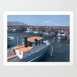 Fisherman's Wharf (SF) Art Print