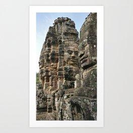 Cambodian Temple Art Print