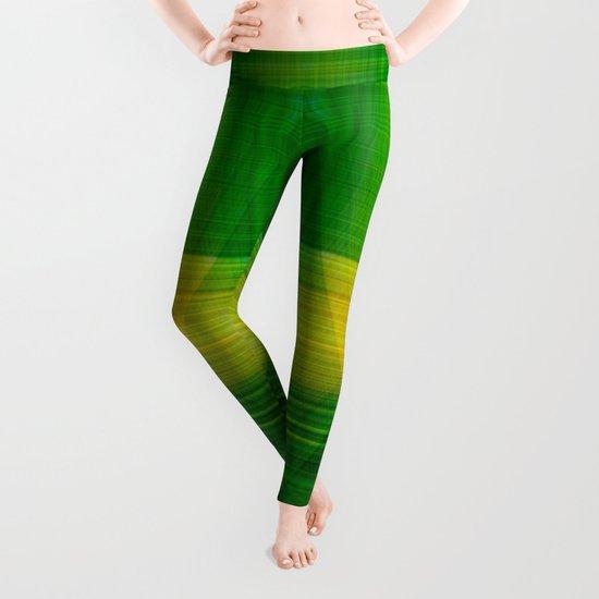 green hope Leggings