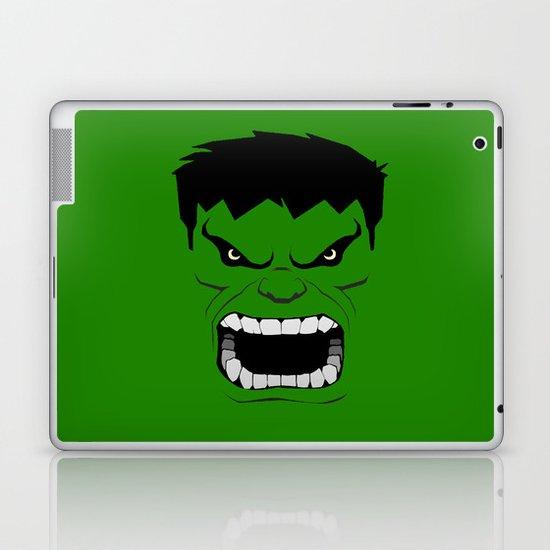 Minimalist Hulk Laptop & iPad Skin