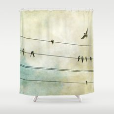 Spread My Wings And Fly Shower Curtain