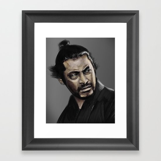 Yojimbo Framed Art Print