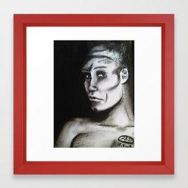 Shadow Man by Fiona Glass W 2013 Framed Art Print