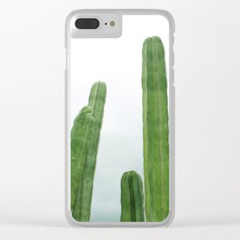 Succulent III Clear iPhone Case