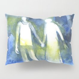 Lost souls at moonlight Pillow Sham
