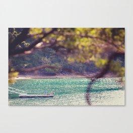 NEW ZEALAND MARLBOROUGH SOUNDS JETTY Canvas Print