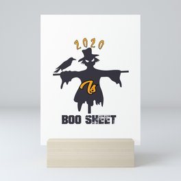 2020 Is Boo Sheet Mini Art Print