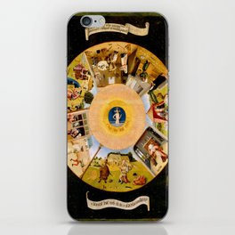 The Seven Deadly Sins and The Four Last Things iPhone Skin