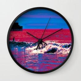 FEEL FREE Wall Clock