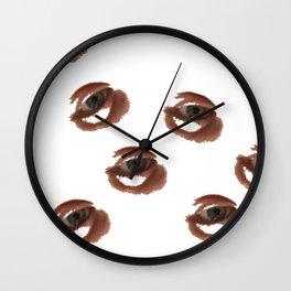 Happy Eyeballs Wall Clock