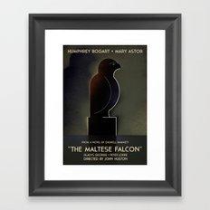the maltese falcon Framed Art Print