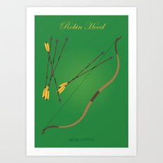 Robin Hood | Fairy Tales Art Print