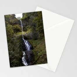 Water Fall Pup Stationery Cards