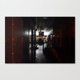 Night Shop Canvas Print