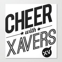 XV Cheerleading Canvas Print