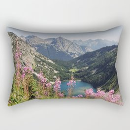 Cascade Summer Wildflowers Rectangular Pillow