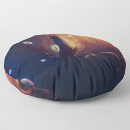 I Live Suspended Floor Pillow