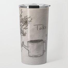Take Care of Yourself Travel Mug